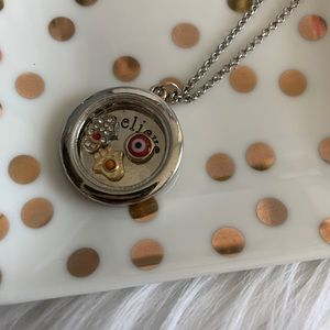NEW Believe floating charms necklace